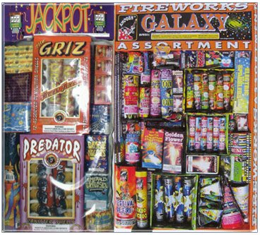 Assorted Fireworks